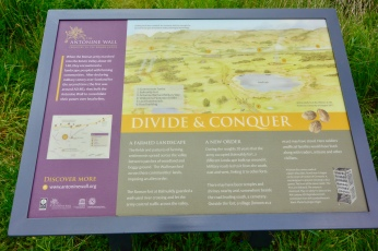 Antonine Wall info board