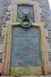 American Monument inscription