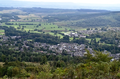 View of Callander from the Crags