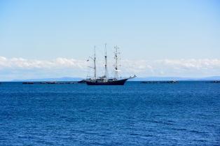 Ship at Port Ellen