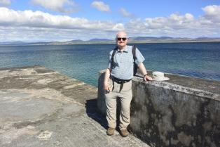 John at Port Charlotte pier