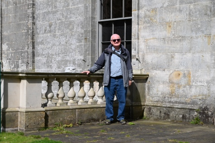 John at Penicuik House