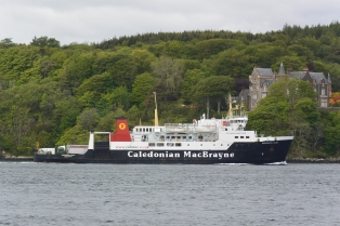 CalMac ferry at Port Askaig