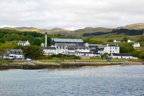 Craighouse from the pier