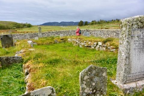 Burial ground, Tarbert, Jura