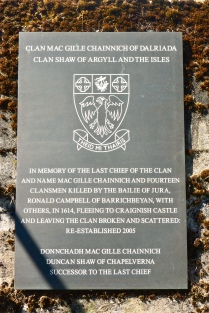 Clan Shaw memorial