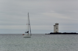 Carraig Fhada lighthouse