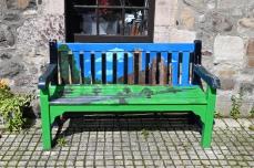Coutrtyard bench