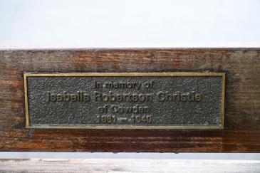 Ella Chrisite plaque