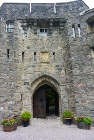 Portcullis and exit