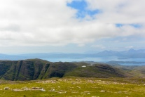 View from Bealach na Bà