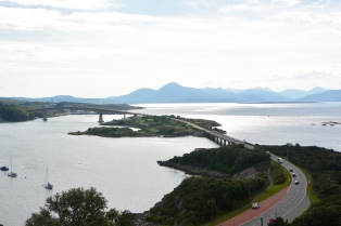 Skye Bridge from the Plock