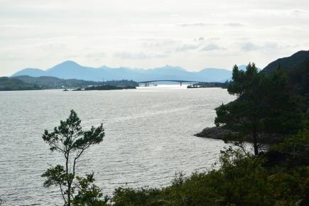 Skye Bridge from Murchison's Monument