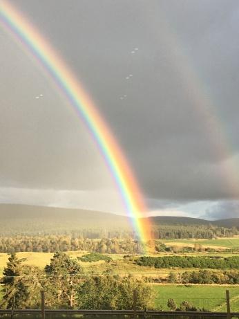 Rainbow over Nethy Bridge