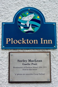 Sorley MacLean lived here