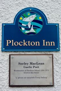 Sorley MacLean lived here