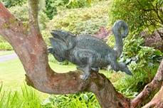 Chameleon by Alex Jones, bronze 2004.