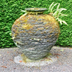 Urn, mixed slate, Joe Smith.