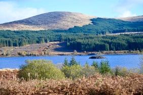 Loch Doon from the castle
