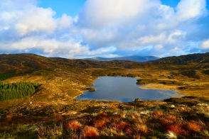 Cornish Loch from Cornish Hill
