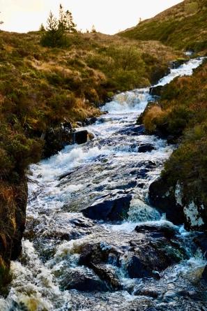 Water of Girvan at Loch Cornish