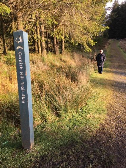 Cornish Hill trail