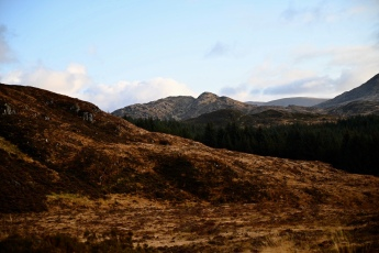Descending from Cornish Hill