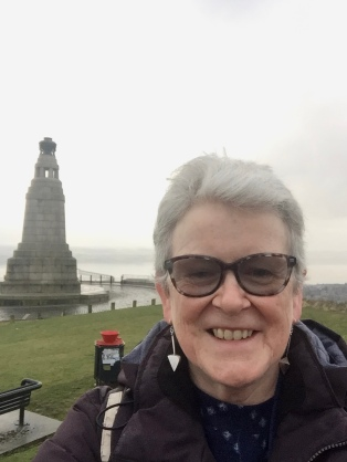 Dundee Law selfie