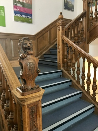 Lion staircase