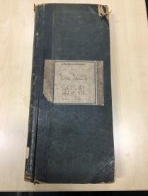 Greenock Infirmary Fever Journal 1867-8