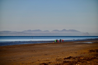 Arran from Girvan