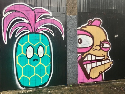 Graffiti art by Oh Pandah