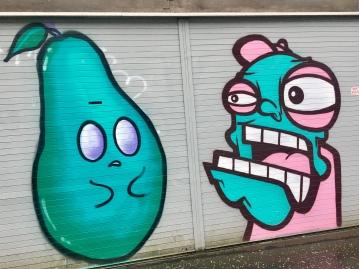 Graffiti art by Oh Pandah