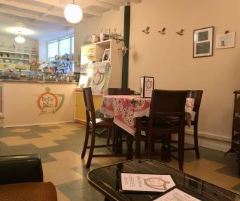 Cup and Saucer Vintage Tearoom