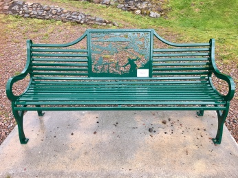 Kinlochleven Angling Club bench