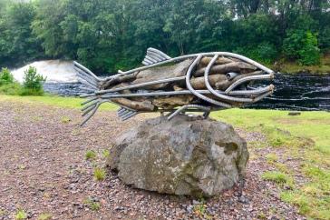 Kinlochleven sculpture