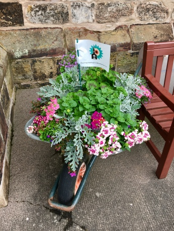 Blooming Haddington Wheelbarrow Trail