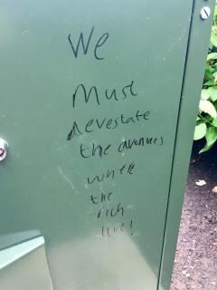 Haddington graffiti