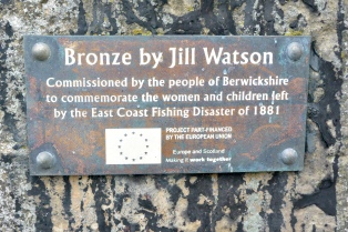 East Coast Fishing Disaster memorial, Burnmouth