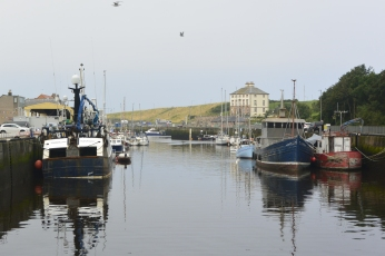 Eyemouth Harbour and Gunsgreen House