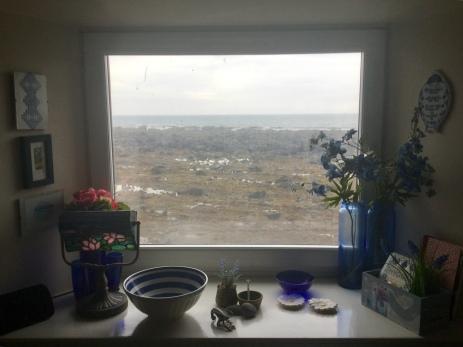 Dining area window
