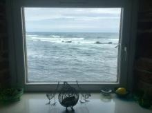 Downstairs window