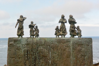 East Coast Fishing Disaster memorial, St Abbs