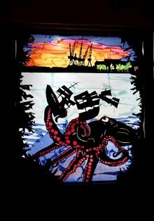 Burleigh Street window