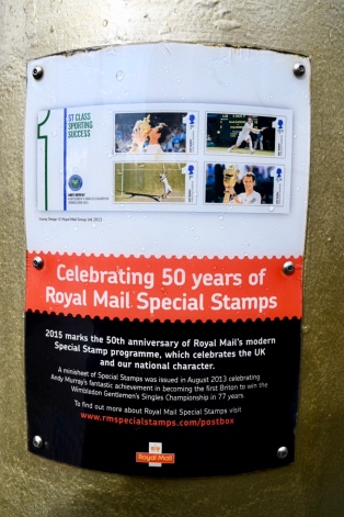 Andy Murray postbox