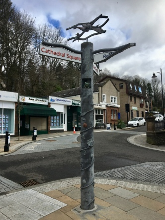 Quirky signpost
