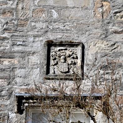 Crest over doorway