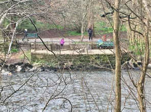 River Kelvin Mar 2020