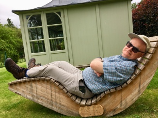 John at Bughtrig Garden