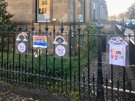 Fence NHS tributes